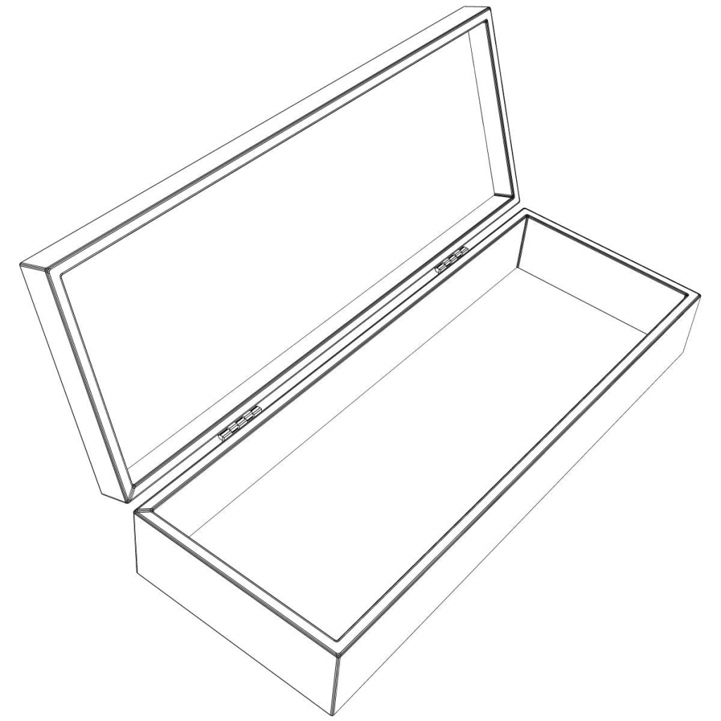 1024x1024 Drawing A 3d Box Drawing A 3d Box