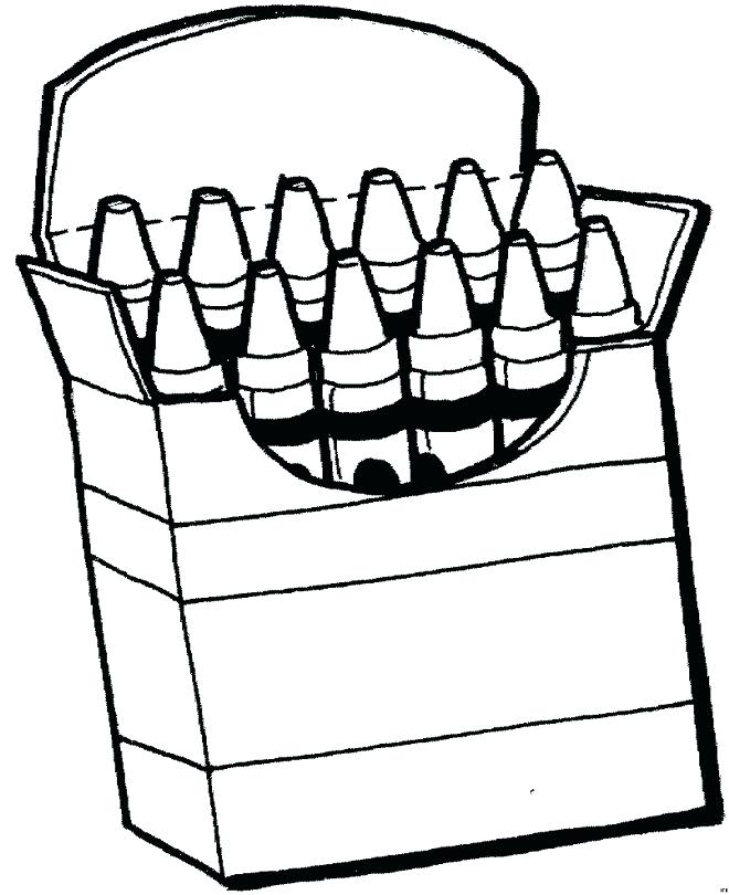 660x810 Coloring Pages Of Crayons Crayon Coloring Pages Plus Crayons