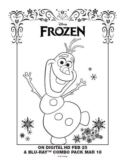 492x635 One Savvy Mom Nyc Area Mom Blog Disney Frozen Free Printable