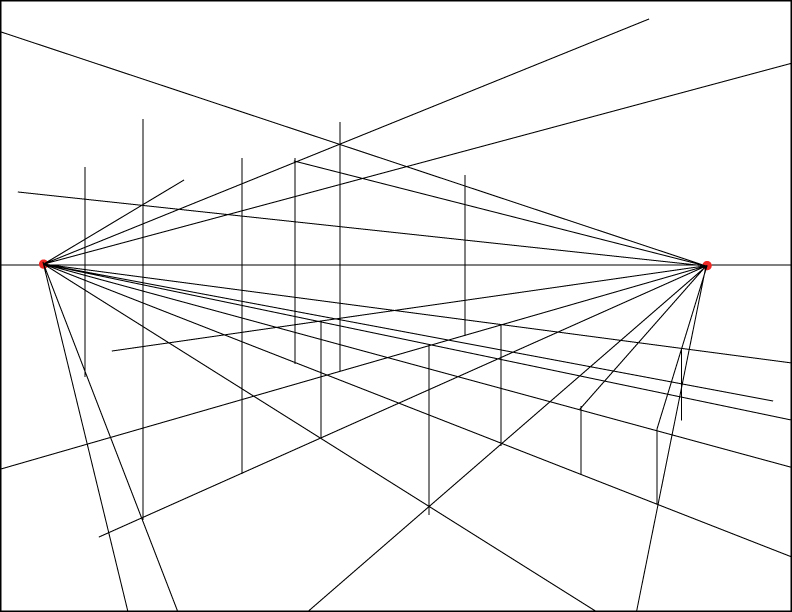 792x612 Two Point Perspective Beginner's School