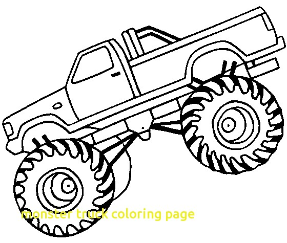560x475 Monster Truck Coloring Page With Monster Truck F Road Coloring