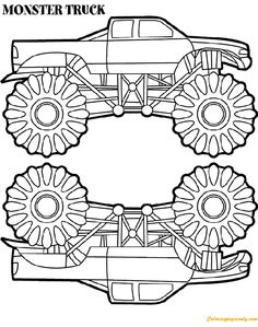 236x299 Monster Truck Coloring Pages Aa Coloring Pages