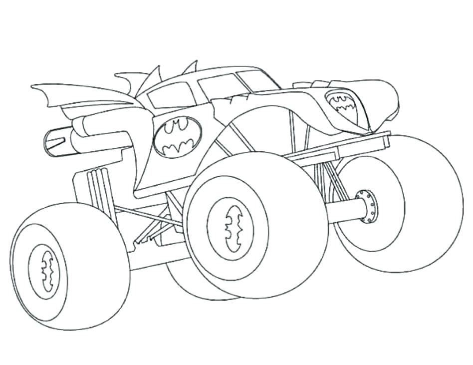 948x731 Monster Trucks Coloring Pages Download Grave Digger Monster Truck