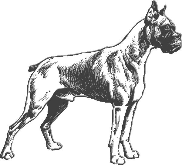 600x542 Dog Clip Art