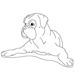 236x236 How To Draw A Dog Boxer Arts And Crafts Dog