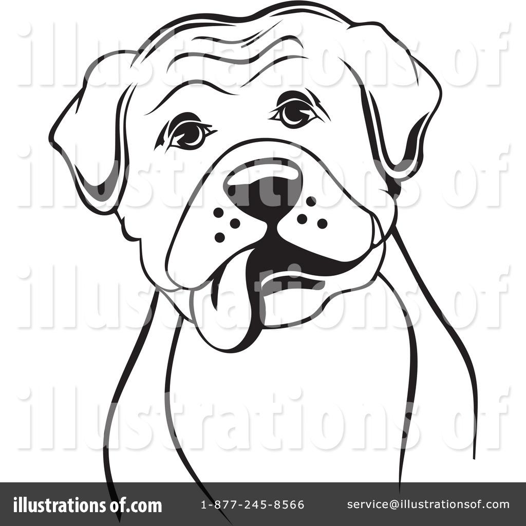1024x1024 Boxer Dog Clipart
