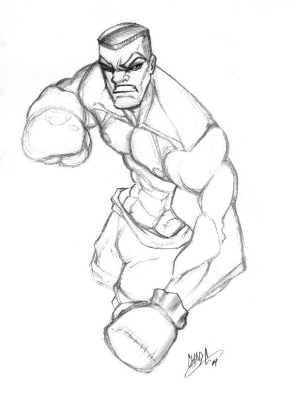 600x829 Boxer By Chadwick J Coleman