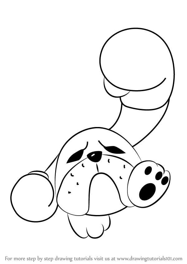 600x846 Learn How To Draw Box Boxer From Kirby (Kirby) Step By Step