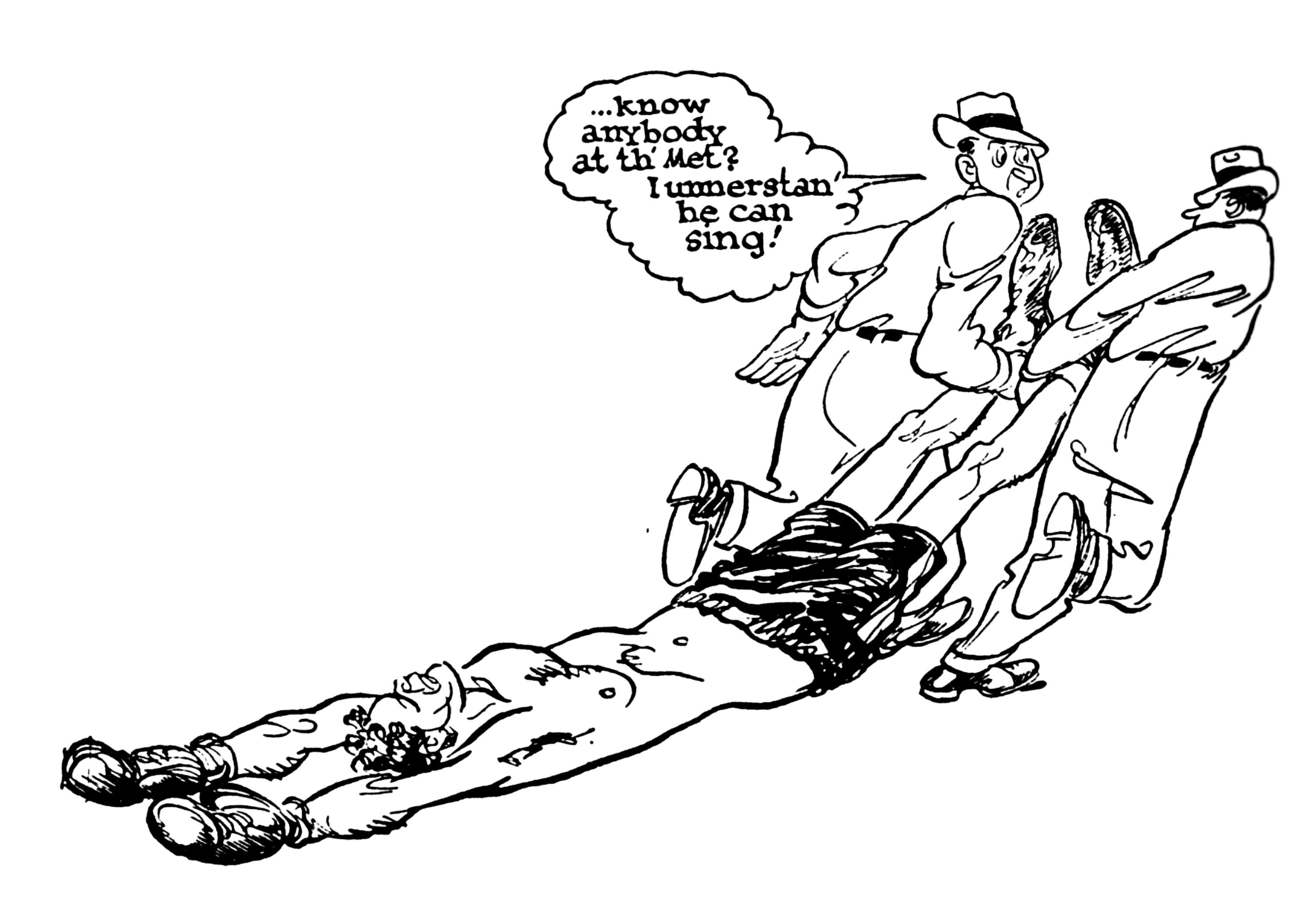 3612x2524 Radical Midwest Boxing Cartoons By Willard Mullin