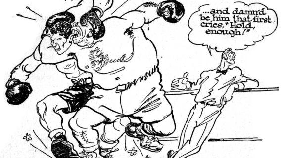 570x320 Boxer Cartoon Drawings Cartoon Snap Boxing Cartoons By Willard