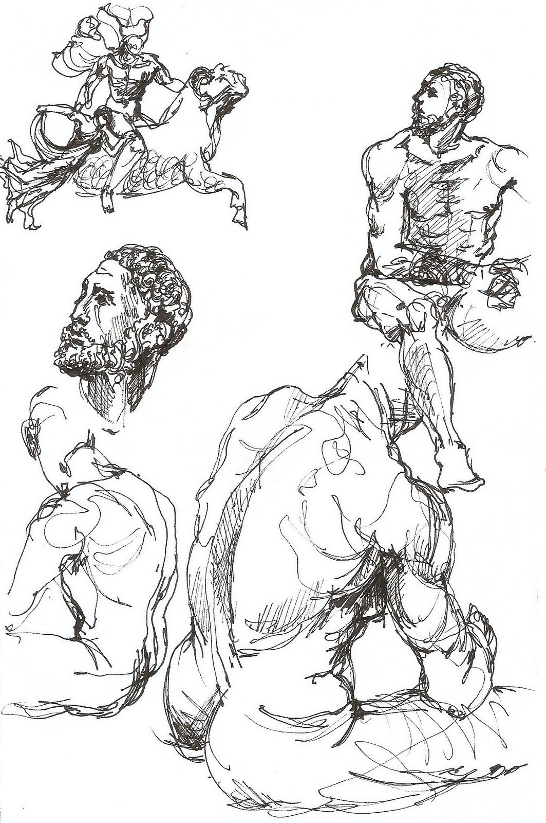 1063x1600 Study Of The Boxer (Encore) Drawings In Journals