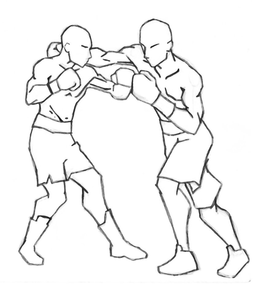 Boxing Drawing