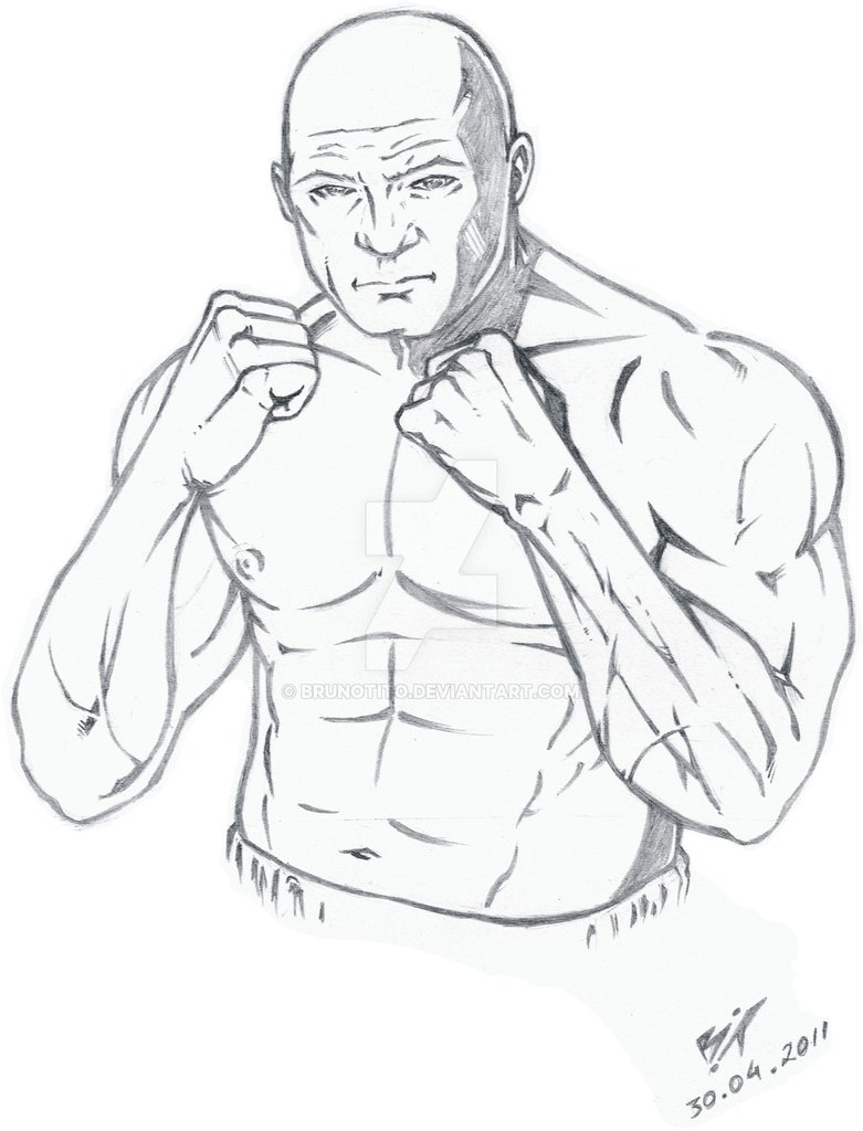 781x1024 Boxing (pencil) by BrunoTito on DeviantArt