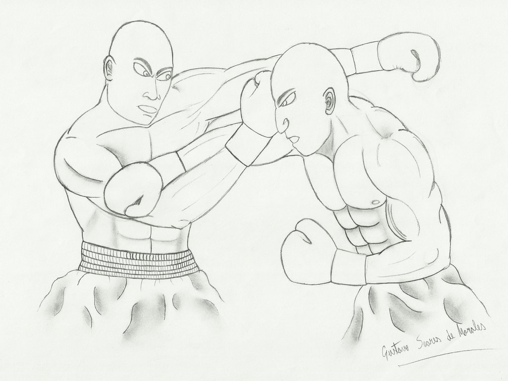 1024x767 Boxing Fight by GustavoMorales on DeviantArt