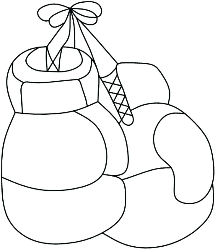728x842 Boxing Gloves Coloring Pages 69 Together With Boxing Gloves Boxing