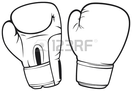 450x309 Boxing Gloves Royalty Free Cliparts, Vectors, And Stock