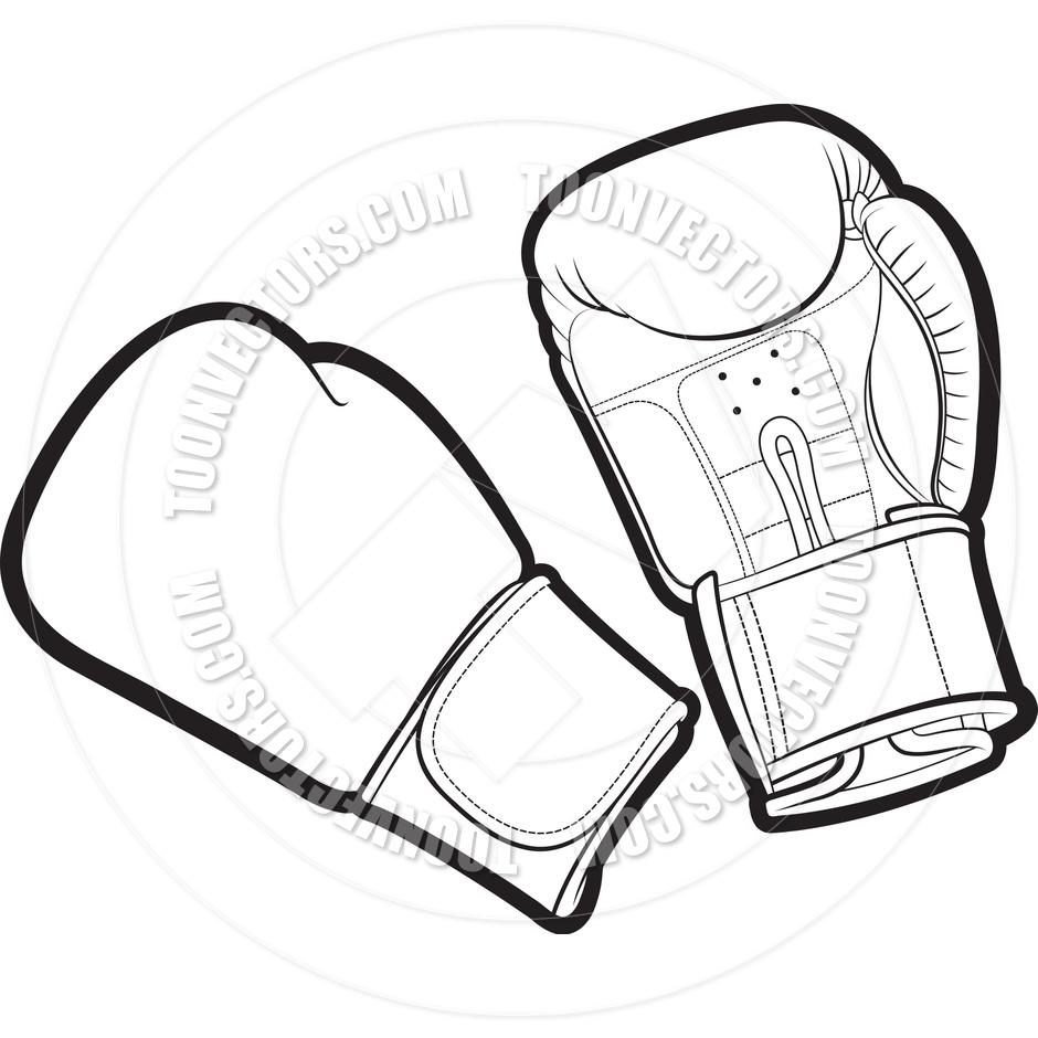 940x940 Cartoon Boxing Gloves by Lal Perera Toon Vectors EPS