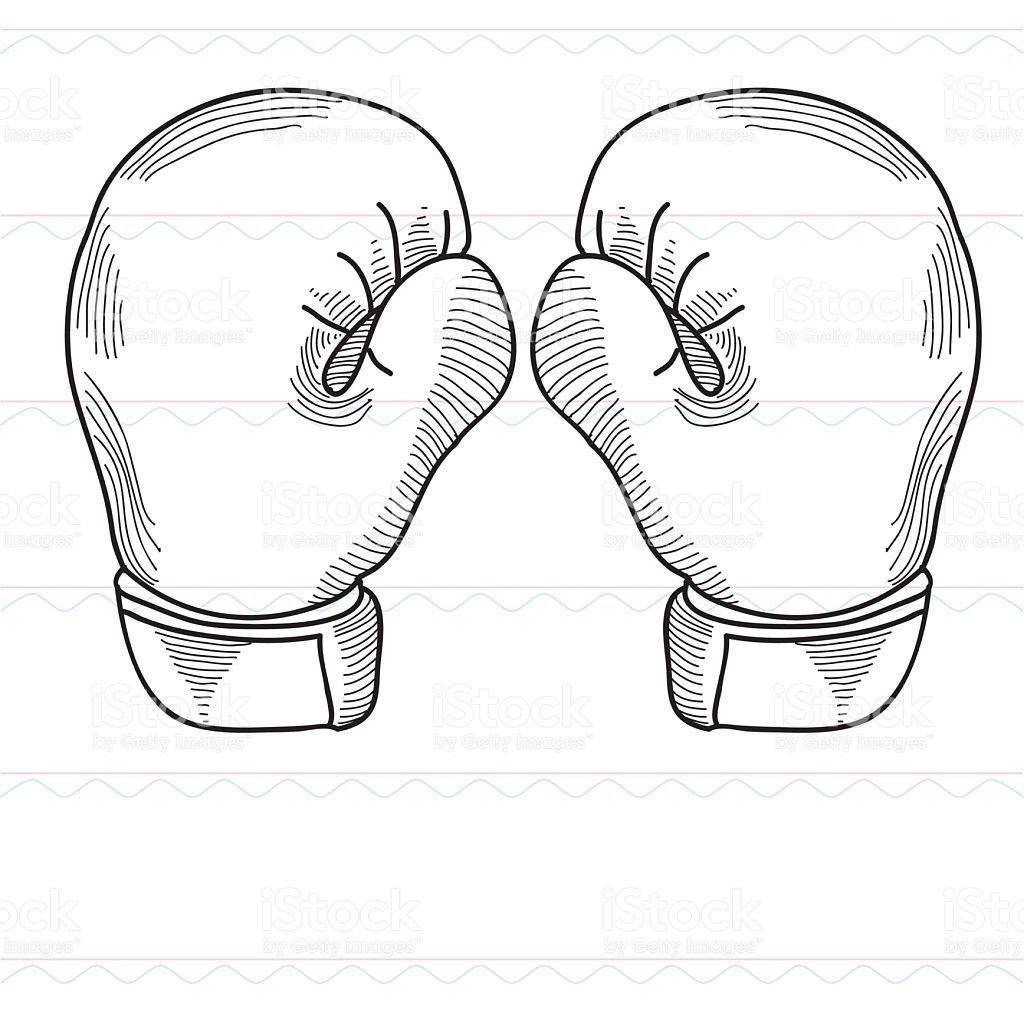 1024x1022 Photos Boxing Glove Sketch,