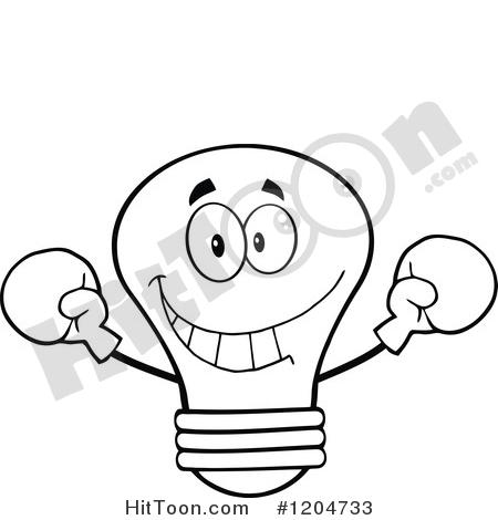 450x470 Light Bulb Clipart