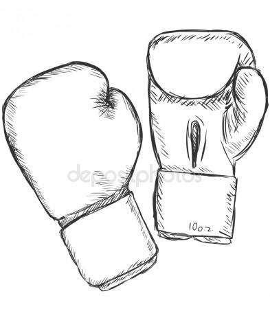 393x450 Boxing Gloves Stock Vectors, Royalty Free Boxing Gloves