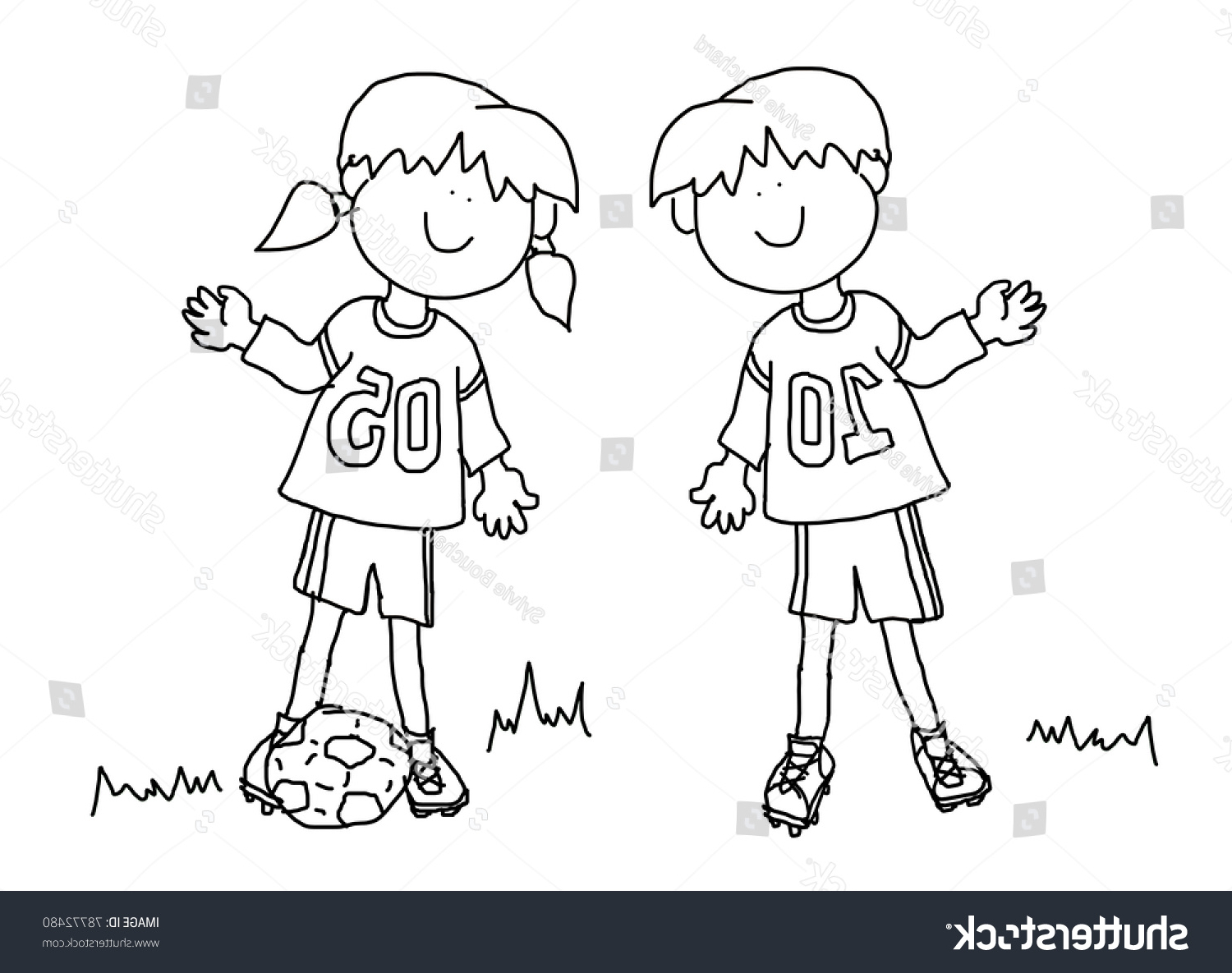 1500x1185 Outline Drawing Of Boy And Girl Fun Boy Girl Cartoon Outline