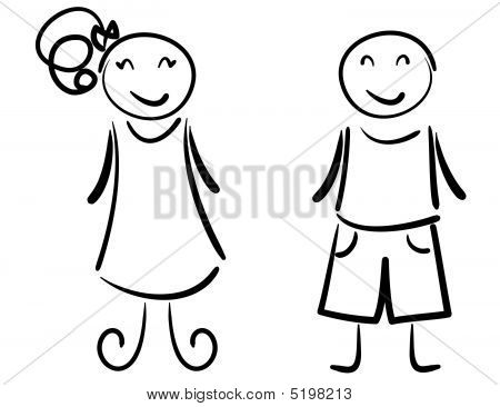 450x366 Boy Girl Vector amp Photo Bigstock