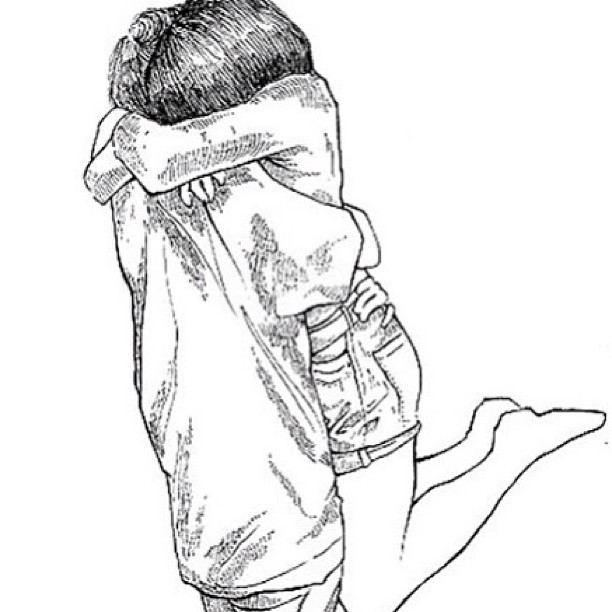 612x612 Pictures Boy Hugging Girl Drawing,