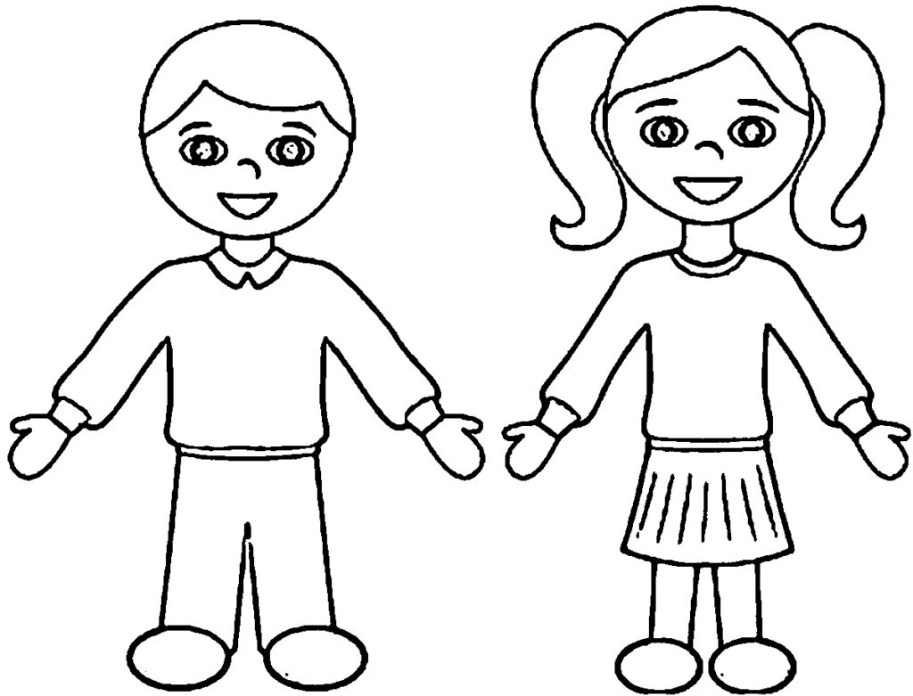 1024x781 Boy And Girl Coloring Pages Coloring Pages
