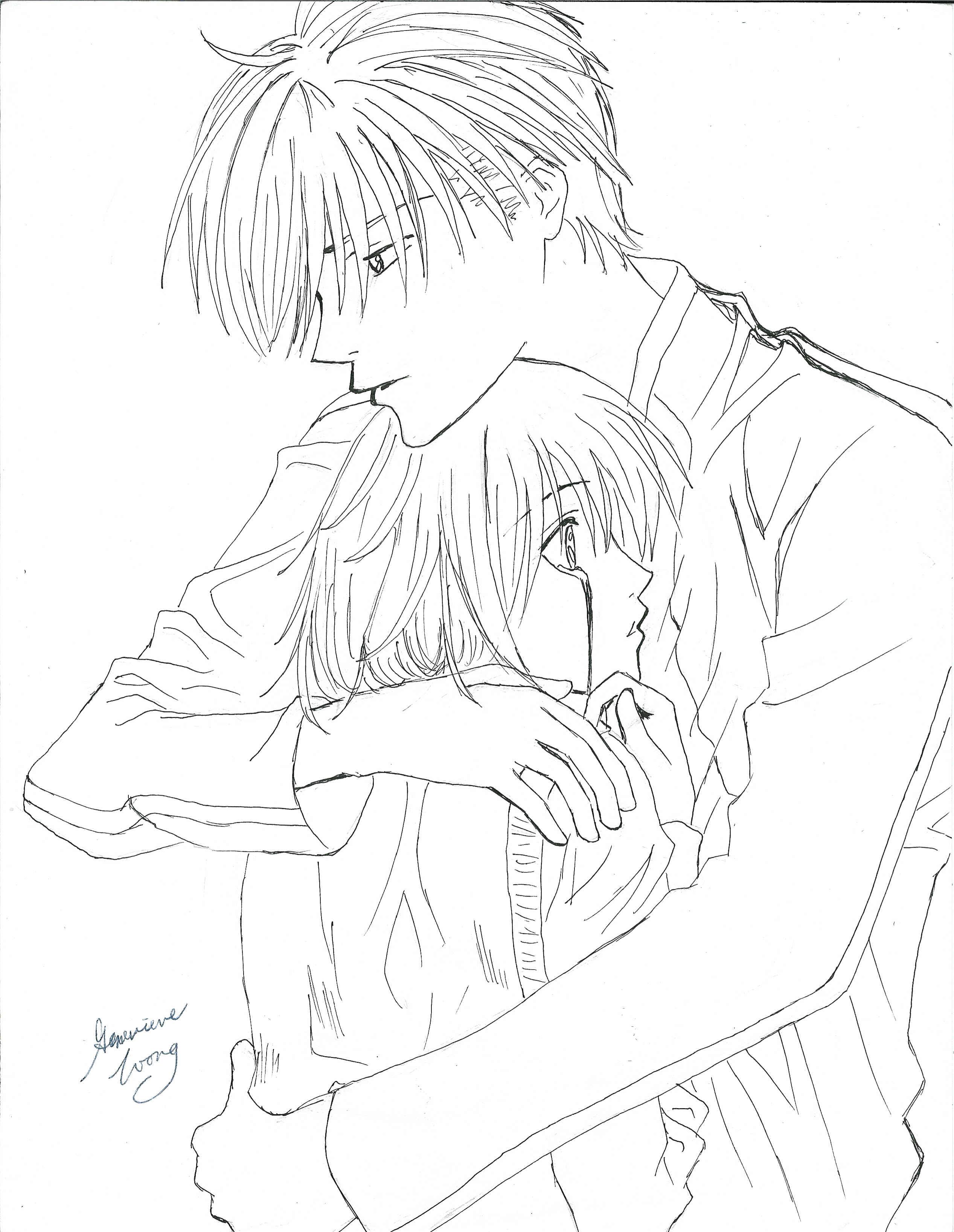 2534x3273 Nakatsu Hugging Mizuki by AnimeMystique on DeviantArt