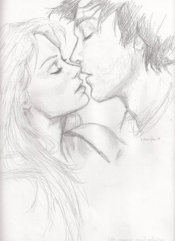 564x775 Cute Couple Drawing Waaaiit Kaider Is That Yooouuuu! Dibujo
