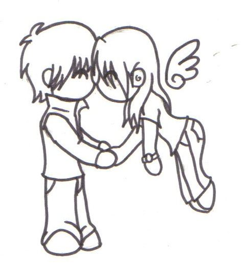 471x539 Chibi Kisses By On @