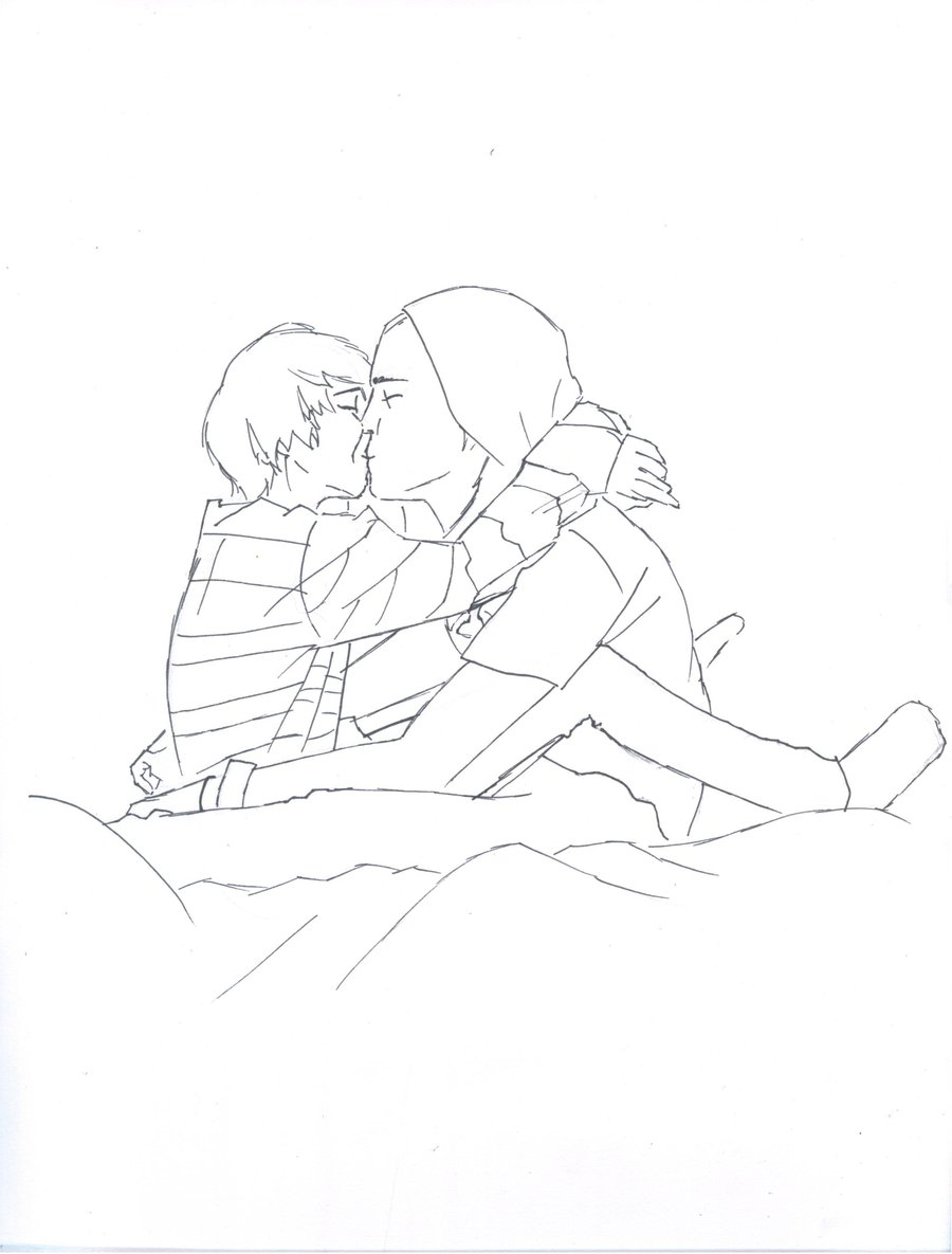 900x1185 Girl And Boy Kissing ~ By Cc Sakuraavalon Cc