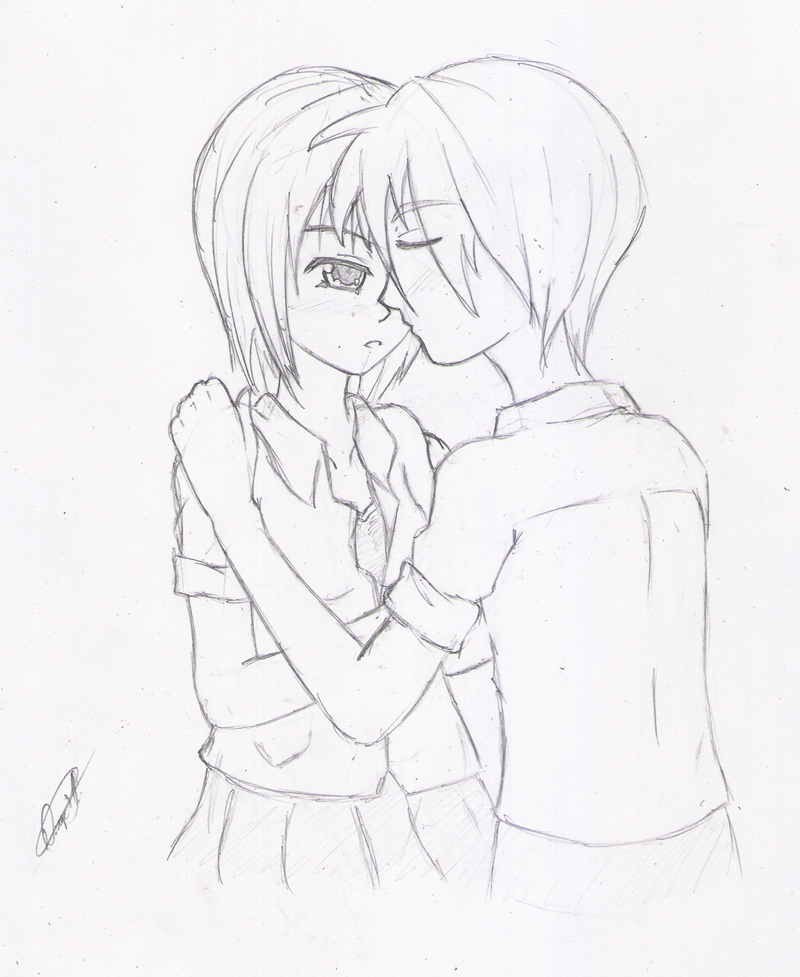 800x977 Pictures Sketch Pic Of Girl With Boy,