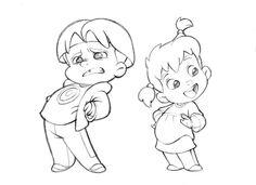 236x171 Cute Little Cartoon Boy By Anderson Mahanski. The Cutest Drawings