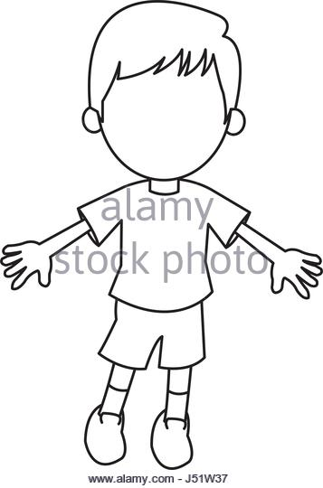357x540 cartoon teen boy black and white stock photos amp images