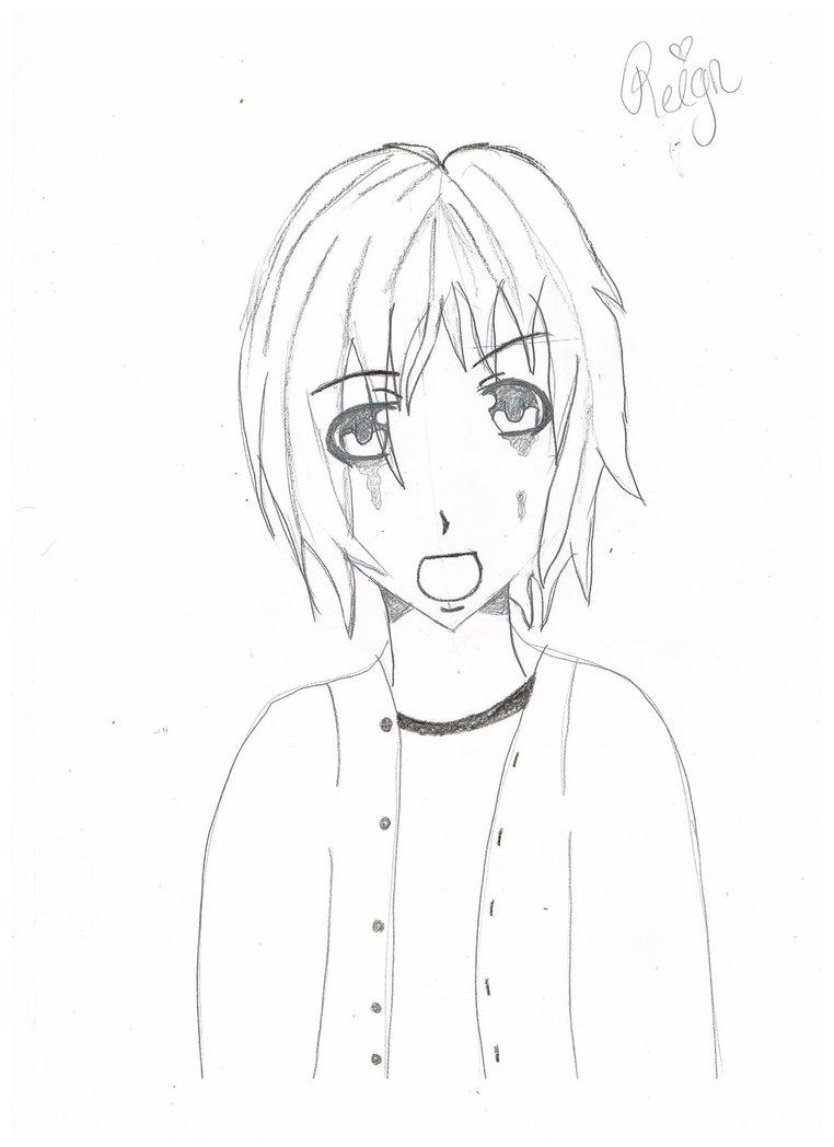 762x1048 Crying Boy, Sketch. By Killerkinng