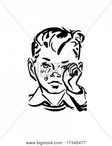360x470 Crying Boy