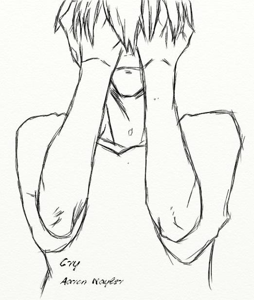 522x616 Crying Boy By Aaronnayler