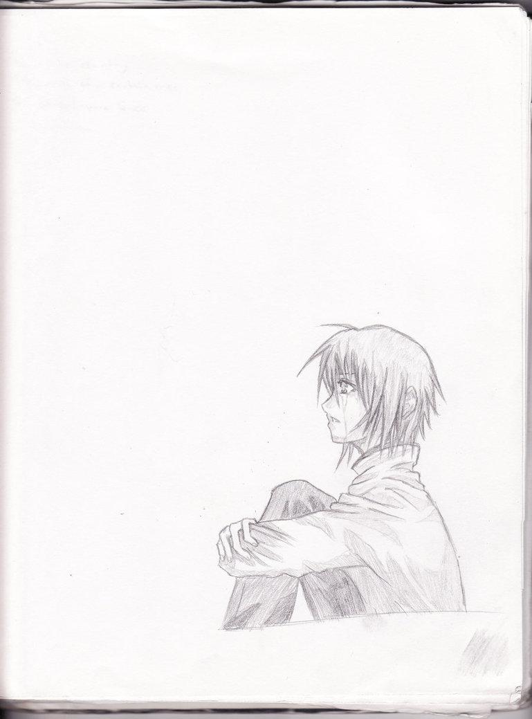 769x1039 Anime Boy Crying Redo By Aoi Ookami