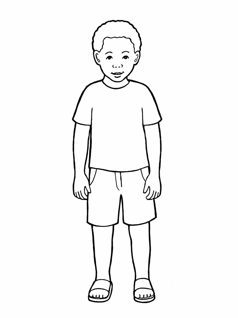 768x1024 Drawings Of A Boy Drawings Of A Boy Boy Drawing Drawing Images
