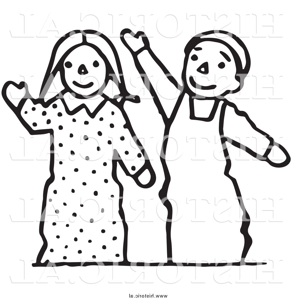 1024x1044 Outline Drawing Of Boy And Girl Clipart Of Waving Boy And Girl