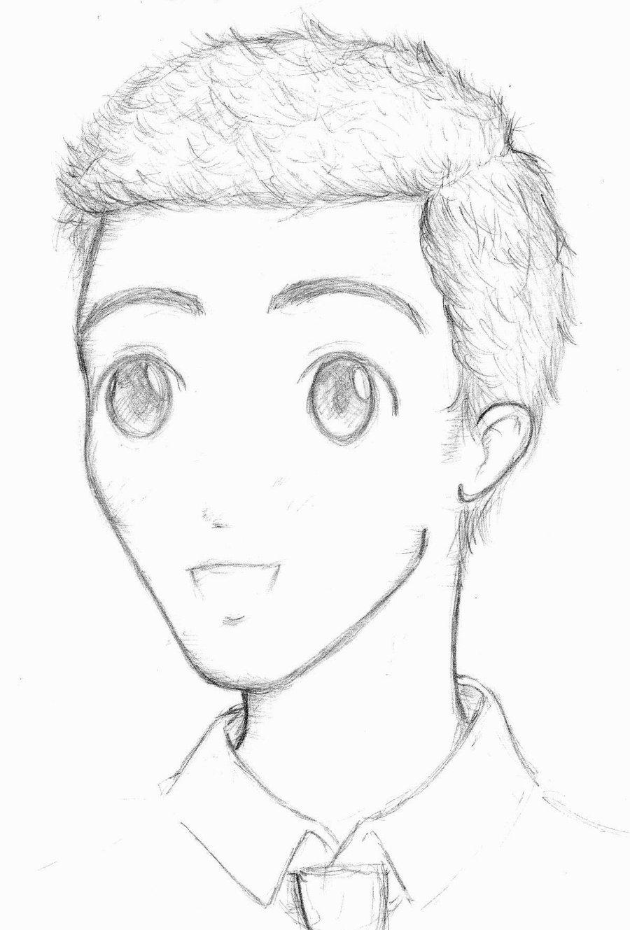 900x1329 Photos Cute Boy Drawing,