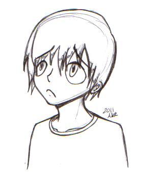 312x360 Sad Boy By Invadersquall5558