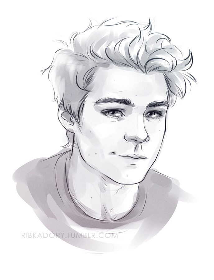 688x900 Today Is All About Ben 3 Teenage Ben Before Bed Draw