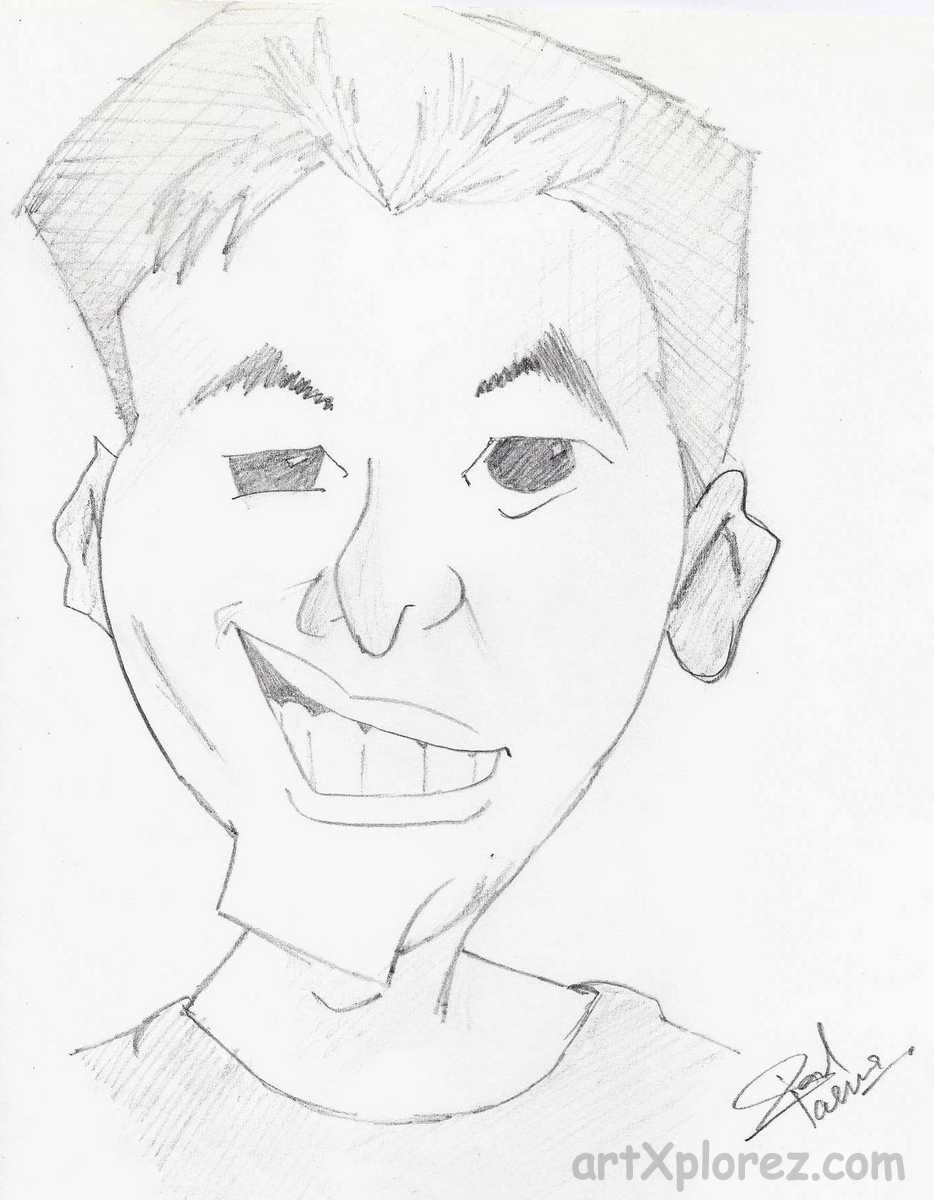 934x1200 Boy Face Pencil Sketch Cartoon Pencil Sketching Artxplorez