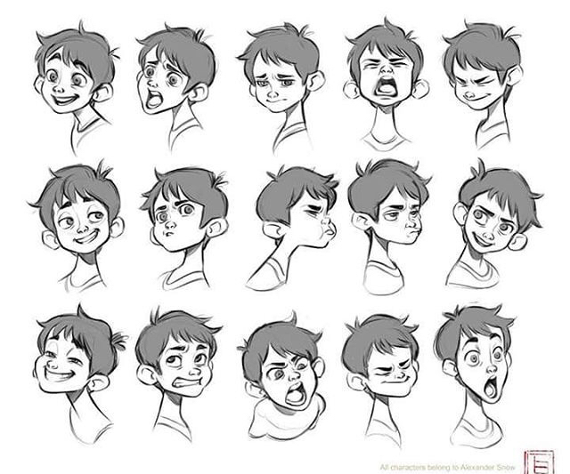 640x533 Emotions Character Design Characters, Character