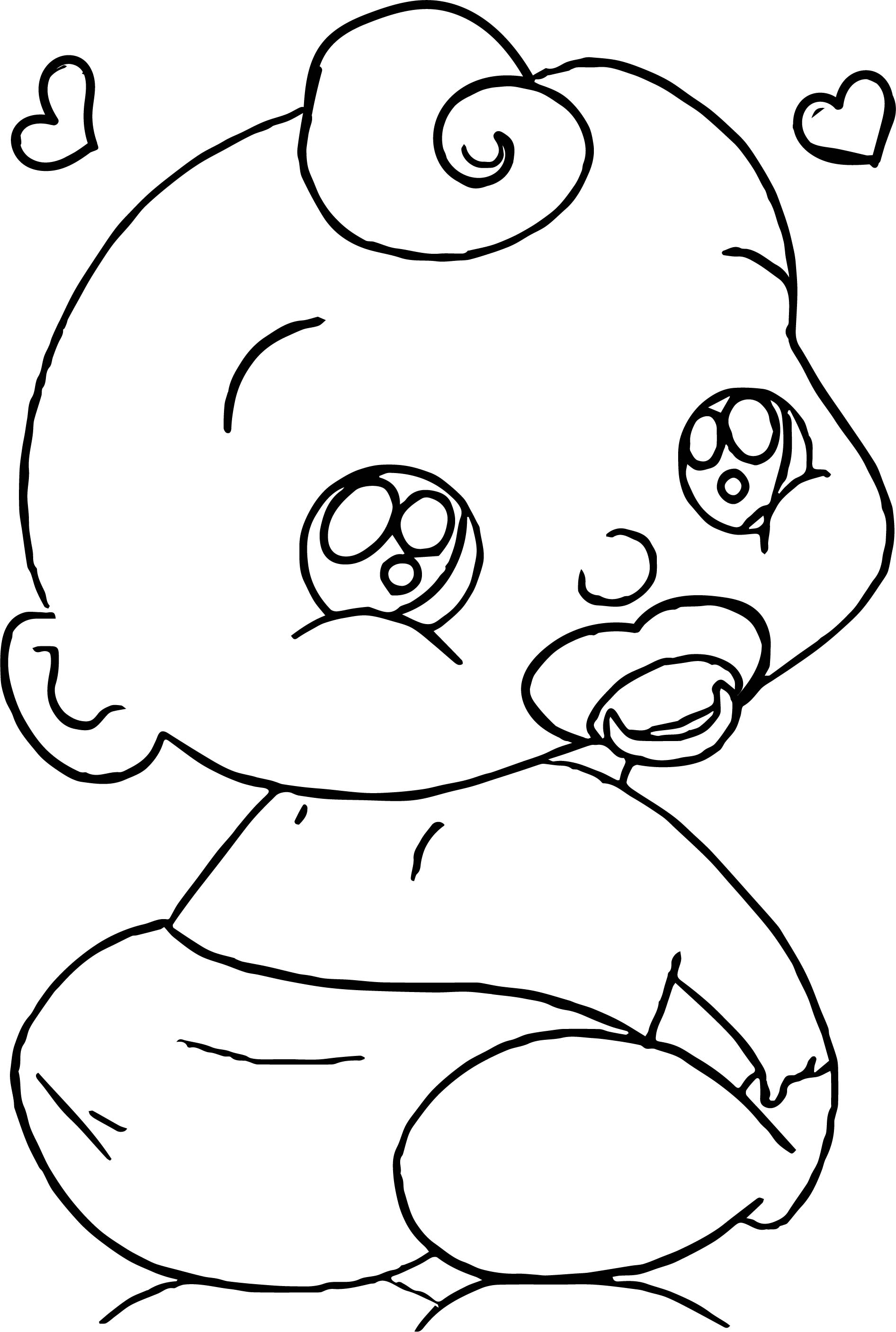 1892x2813 Baby Boy Cartoon Faces Coloring Page Wecoloringpage