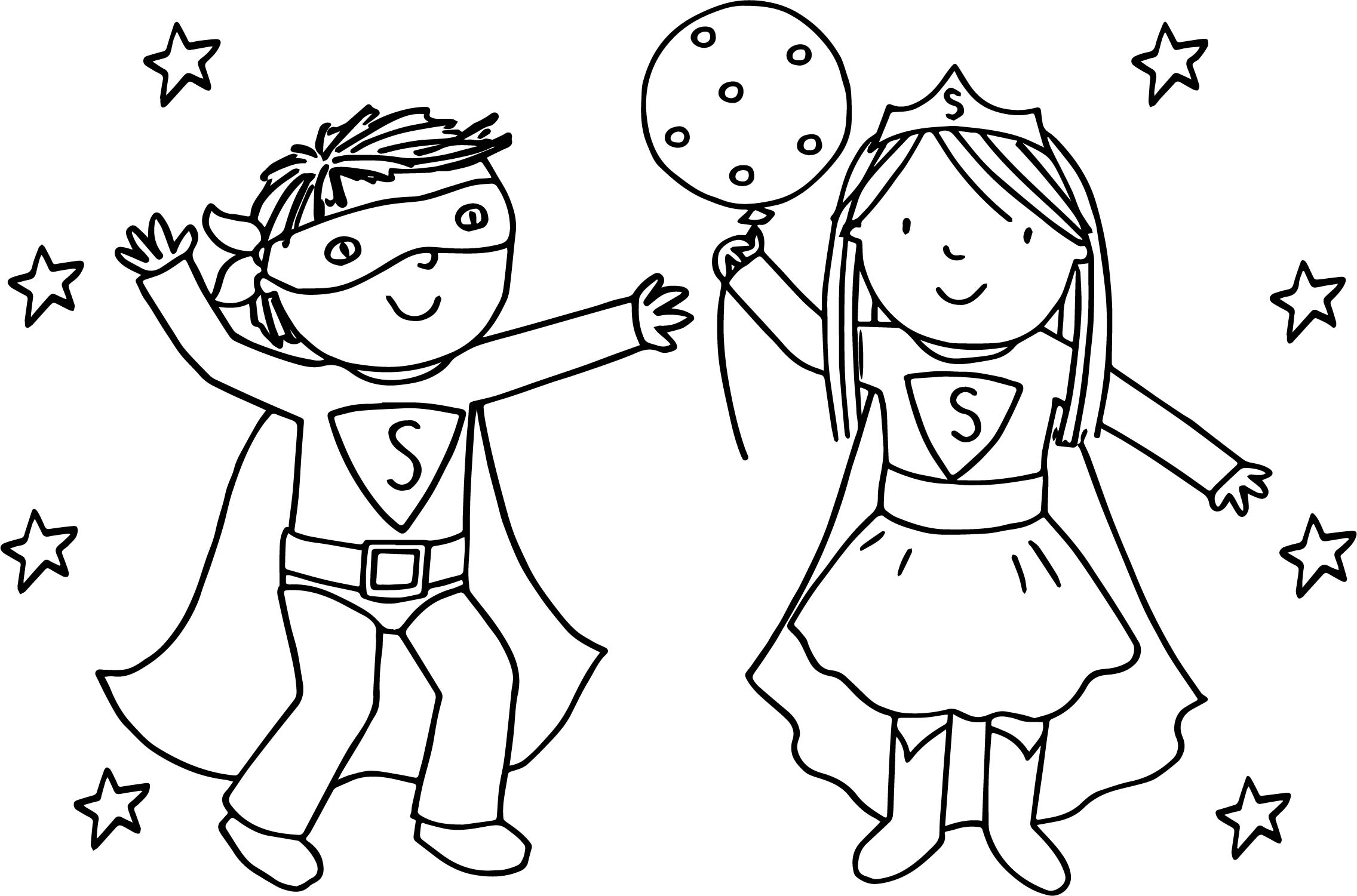 2272x1501 Boy And Girl Coloring In Sweet Draw Printable Coloring Pages