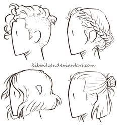 Boy Hairstyle Drawing