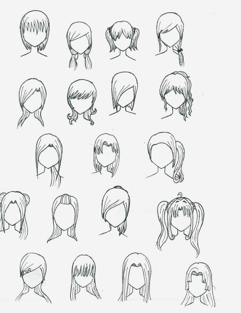 785x1017 Bob Hairstyles Anime Boy Hairstyles View In Hair Transformations